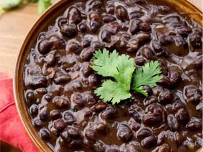 kubanski črni fižol-recept